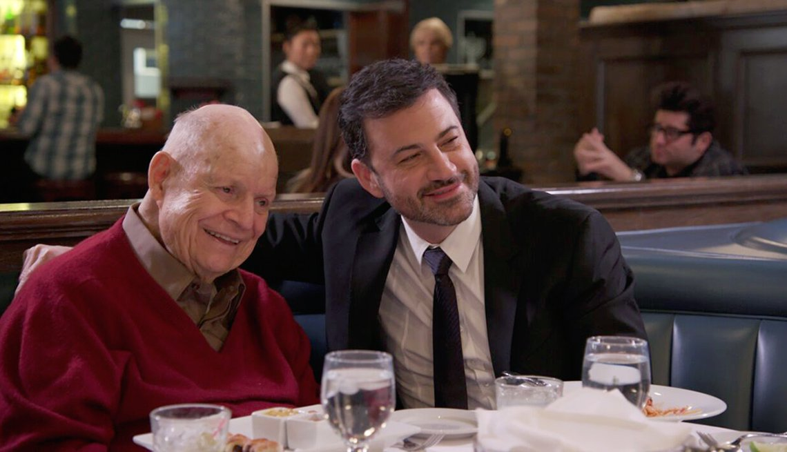 Don Rickles and Jimmy Kimmel
