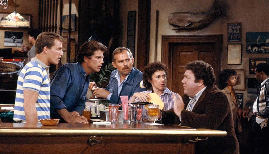 Ted Danson on 'Cheers'