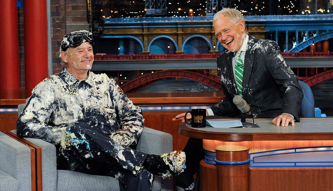 Bill Murray's final appearance on the Late Show with David Letterman in 2015