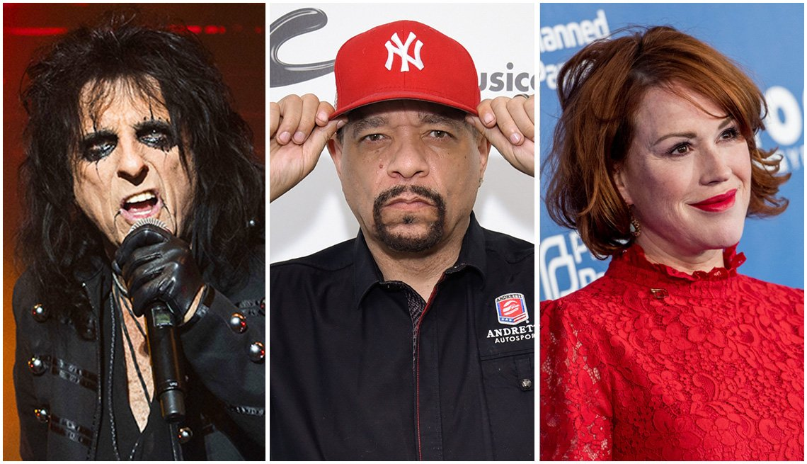 Alice Cooper, Ice-T, and Molly Ringwald February Birthdays