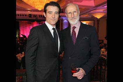 AARP The Magazine's 11th Annual Movies For Grownups Awards - Goran Visnjic, left and James Cromwell