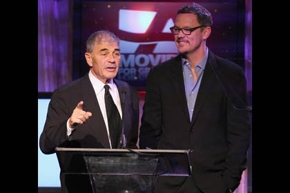 AARP The Magazine's 11th Annual Movies For Grownups Awards - Robert Forster, left, and Matthew Lillard