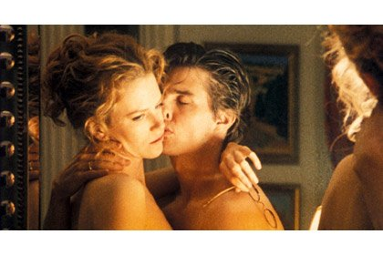 Tom Cruise in Eyes Wide Shut, Nicole Kidman, 50 years old
