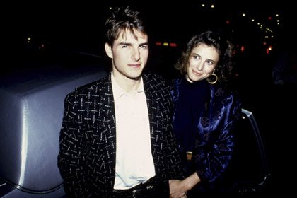 Tom Cruise and Mimi Rogers, 50 years old