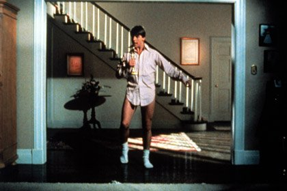 Tom Cruise in Risky Business, 50 years old