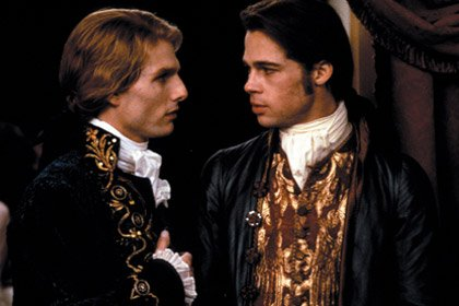 Tom Cruise in Interview With the Vampire: The Vampire Chronicles. Brad Pitt, 50 years old