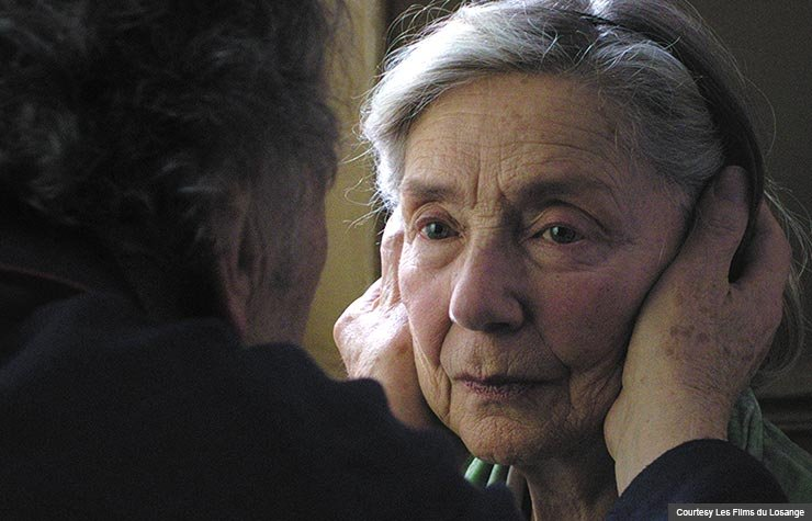Jean-Louis Trintignant and Emmanuelle Riva in Amour, 2012.