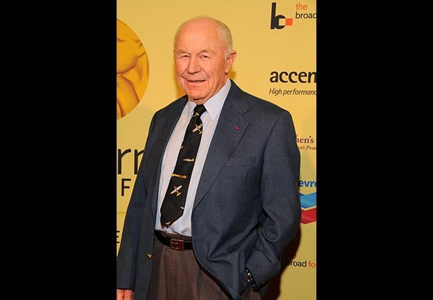 Hall of fame inductee General Chuck Yeager