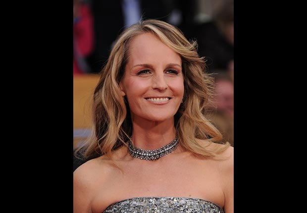 Actress Helen Hunt at the Screen Actors Guild Awards 2013