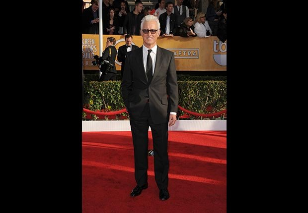 John Slattery on red carpet at Screen Actors Guild Awards 2013