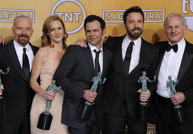 Cast of movie Argo at the Screen Actors Guild Awards 2013