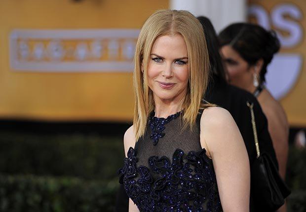 Nicole Kidman arrives at Screen Actors Guild Awards 2013
