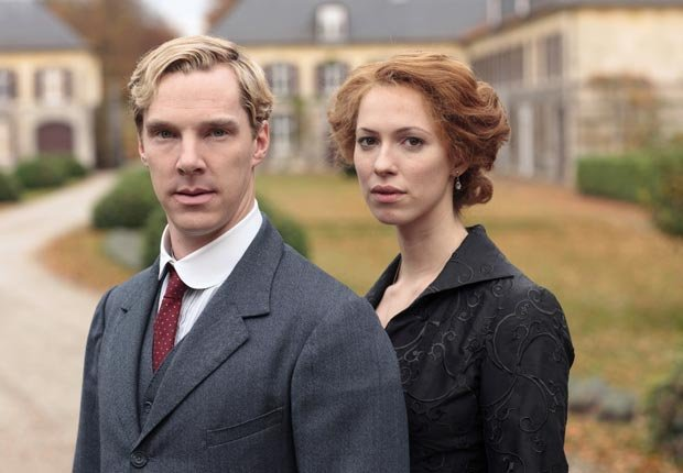 Benedict Cumberbatch and Rebecca Hall in Parade's End. (Nick Briggs/HBO/Everett Collection)