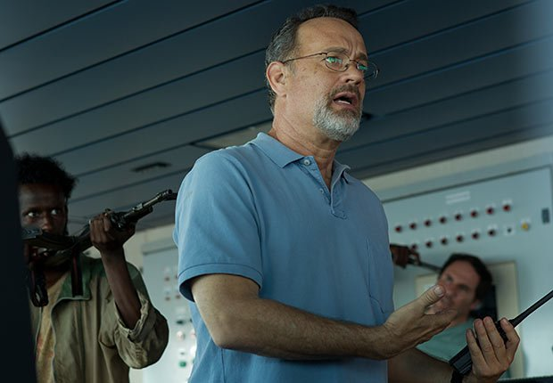 Tom Hanks in Captain Phillips. Top 10 Movies of 2013.