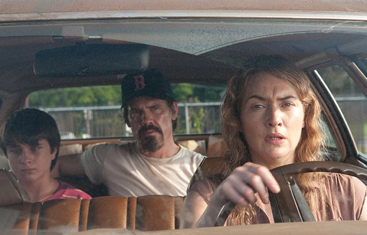 Gattlin Griffith, Josh Brolin and Kate Winslet star in Labor Day.
