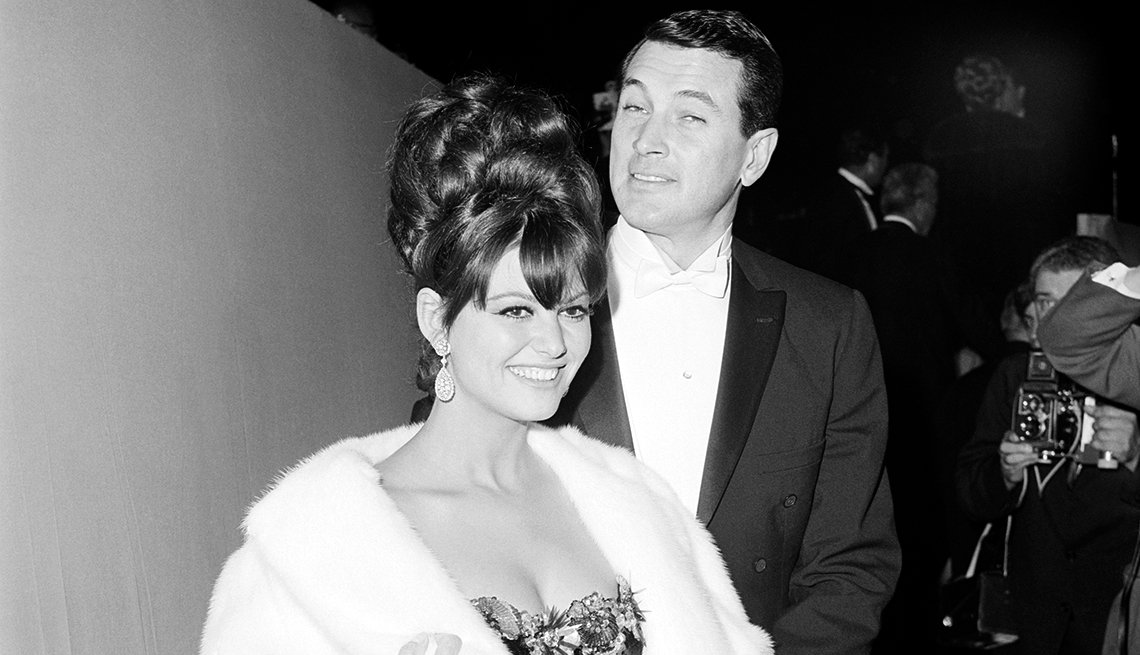 Claudia Cardinale, Rock Hudson, Academy Awards, 1965