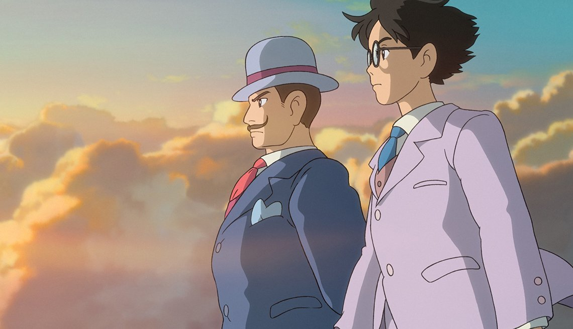 The Wind Rises, Jiro Horikoshi, World War II, animated film