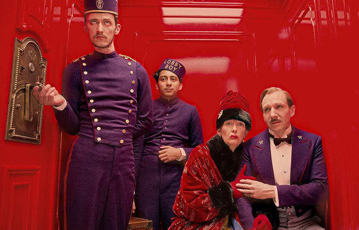 Wes Anderson's new film, The Grand Budapest Hotel