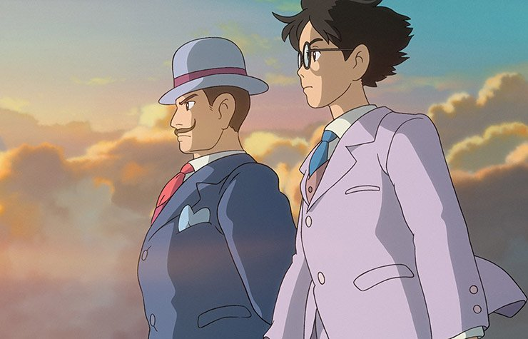 The Wind Rises, the story of Jiro Horikoshi in WWII Japan.