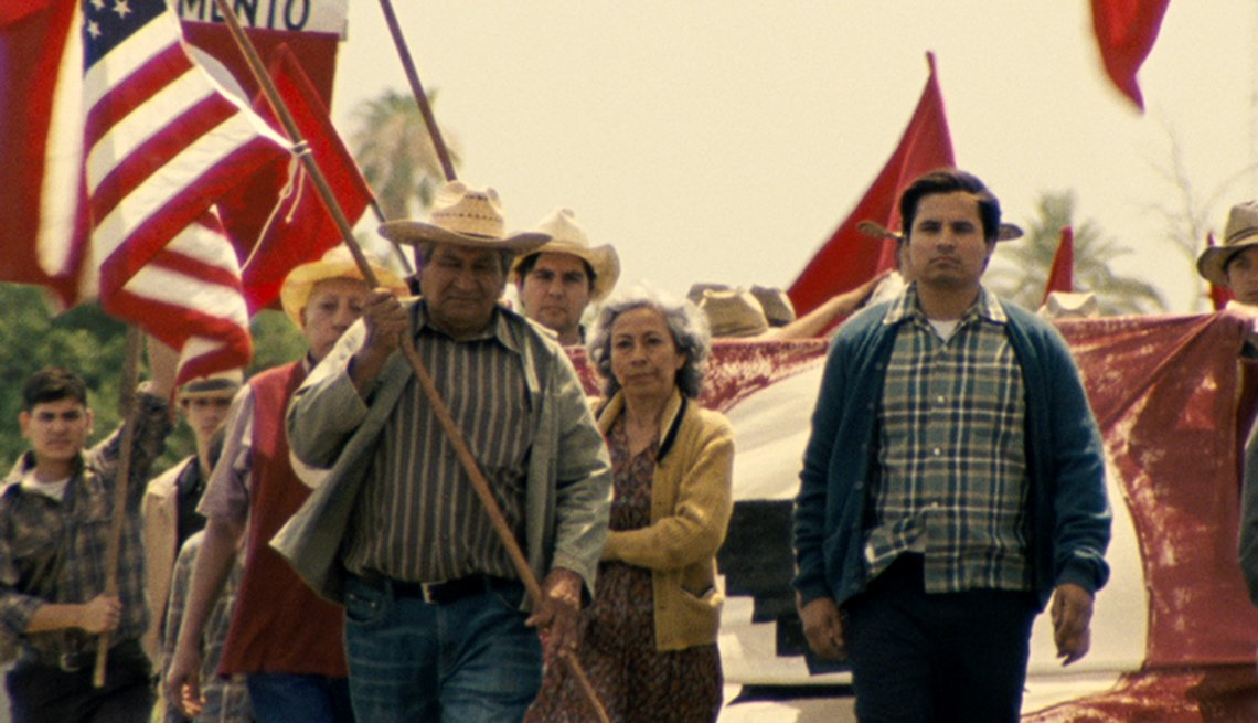 Michael Pena, Cesar Chavez, movies for grownups