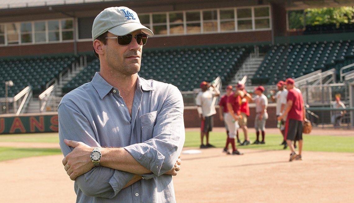 Jon Hamm, Million Dollar Arm, movie review