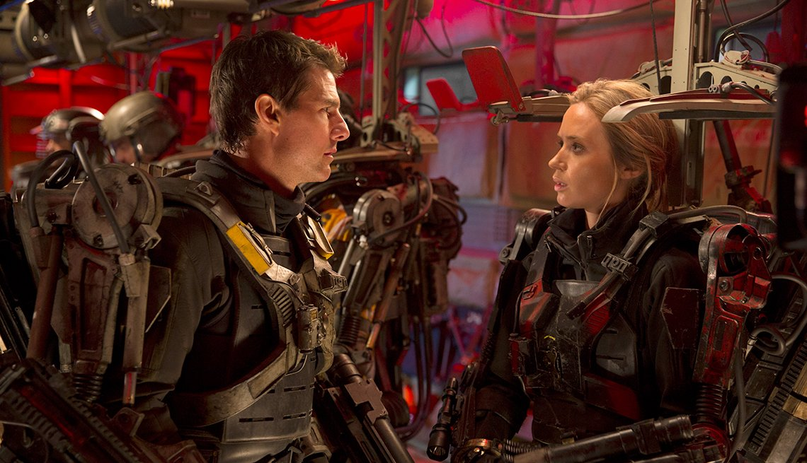 Tom Cruise, Emily Blunt, The Edge of Tomorrow, Summer Movie Preview