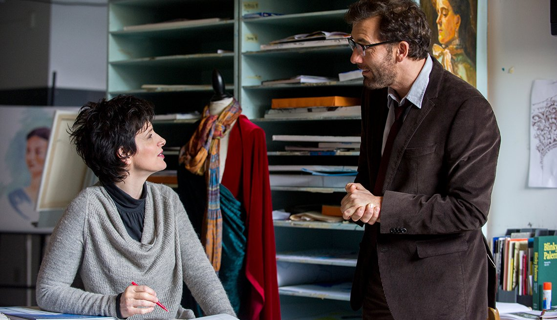 Clive Owen, Julette Binoche, Words and Pictures, movie review