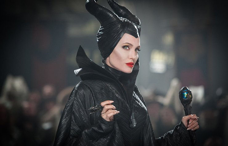 Angelina Jolie in MALEFIENT, Movie Review