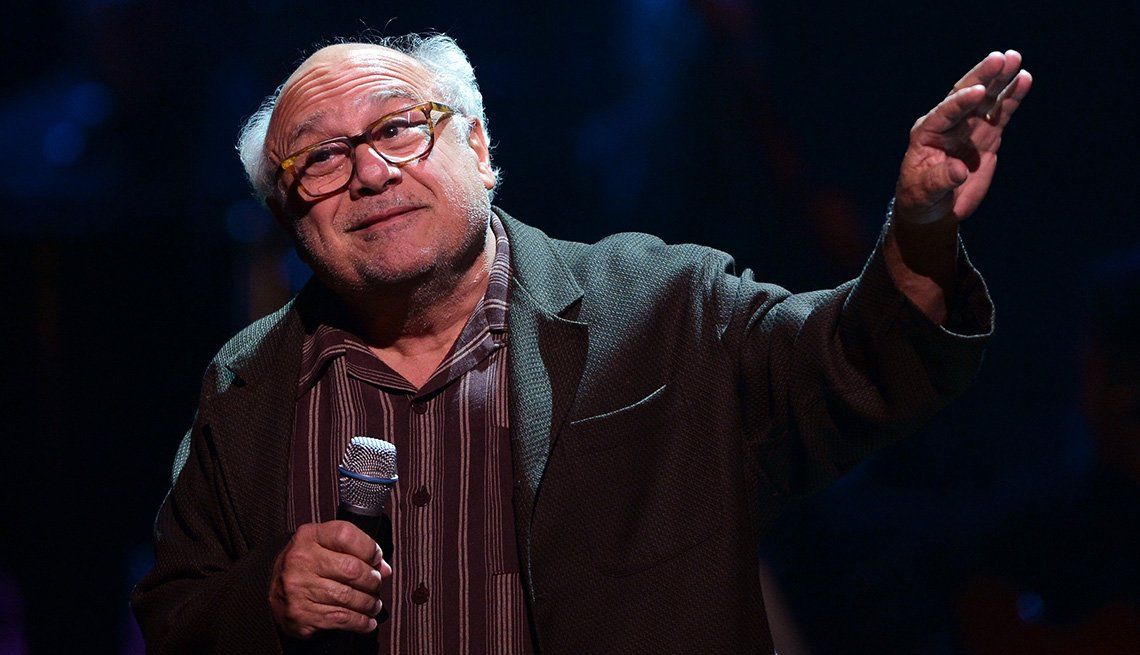 Danny DeVito, On Stage, Actor, Microphone, Celebrities From New Jersey, Jersey Boys