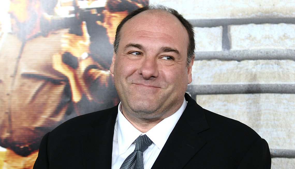 Actor James Gandolfini Stops On The Red Carpet To Pose For Photos, Celebrities From New Jersey, Jersey Boys