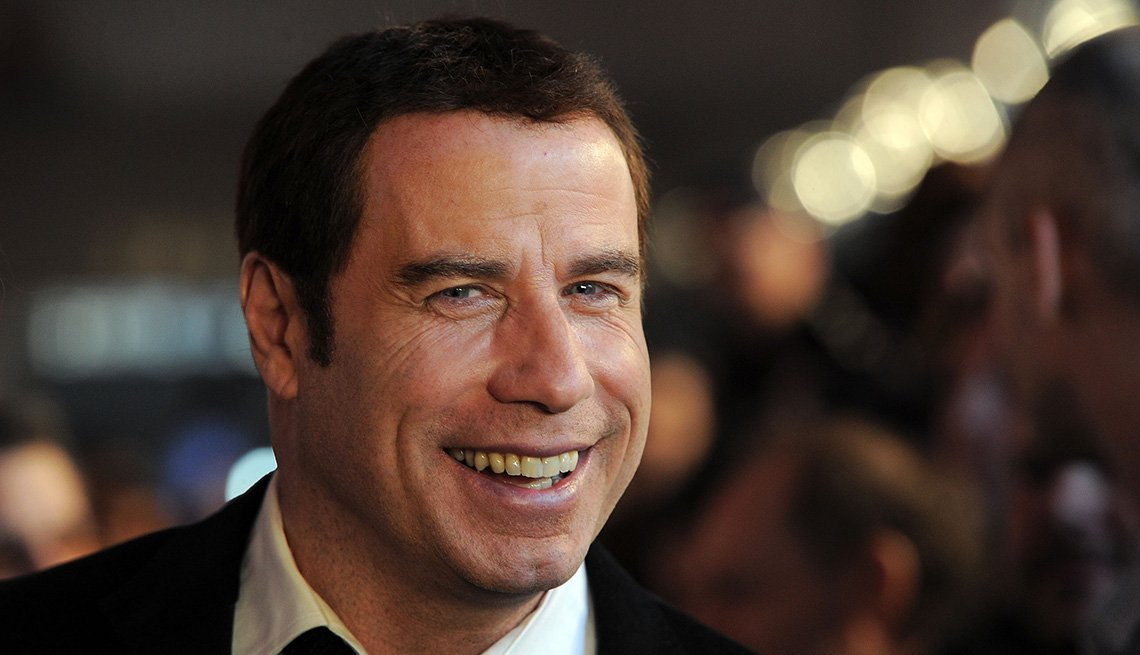 Actor John Travolta Poses At Event, Celebrities From New Jersey, Jersey Boys
