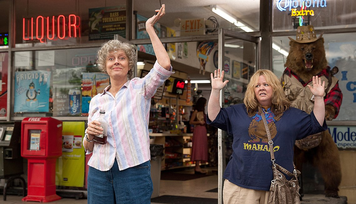 Susan Sarandon, Melissa McCarthy, Tammy, movie review