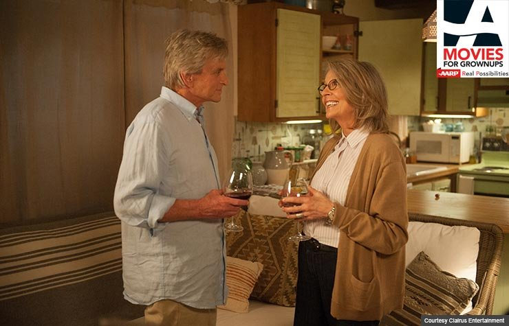 Diane Keaton and Michael Douglas star in And So It Goes.