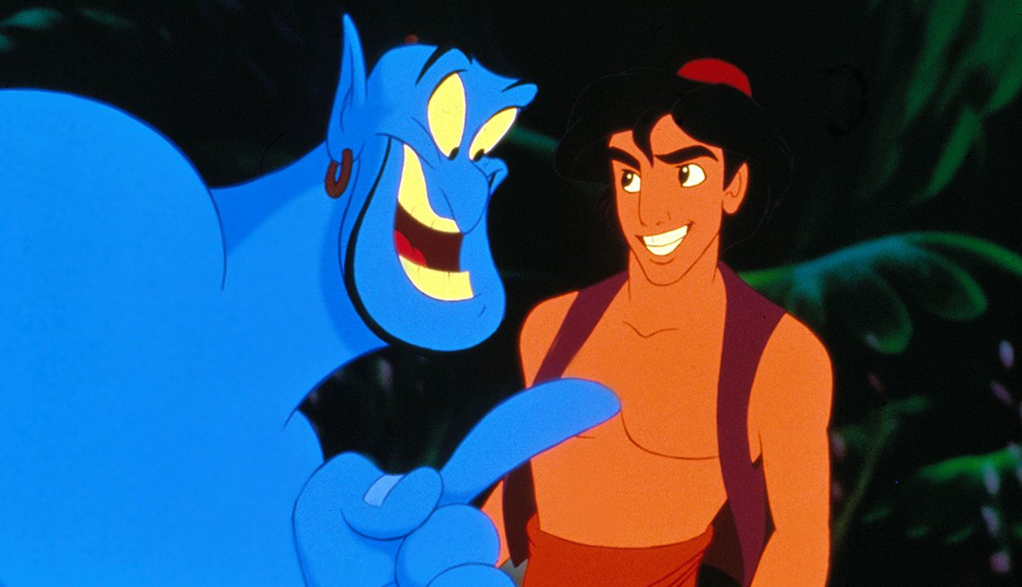 Disney, Aladdin, Animated Film, Robin Williams Best Roles