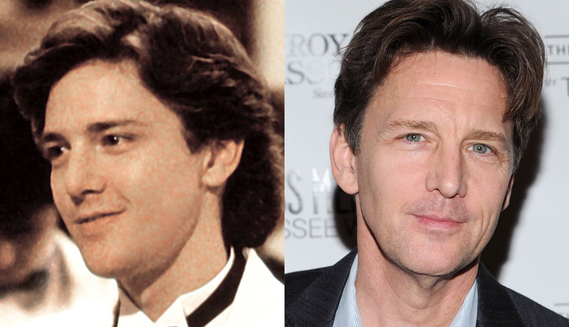 Andrew McCarthy, Actor, Portrait, The 80s, The Brat Pack Then And Now