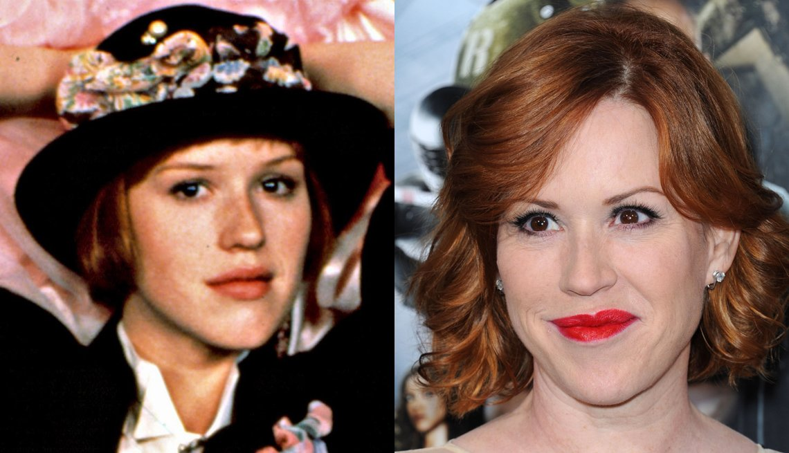 Molly Ringwald, Actress, The 80s, Portrait, The Brat Pack Then And Now