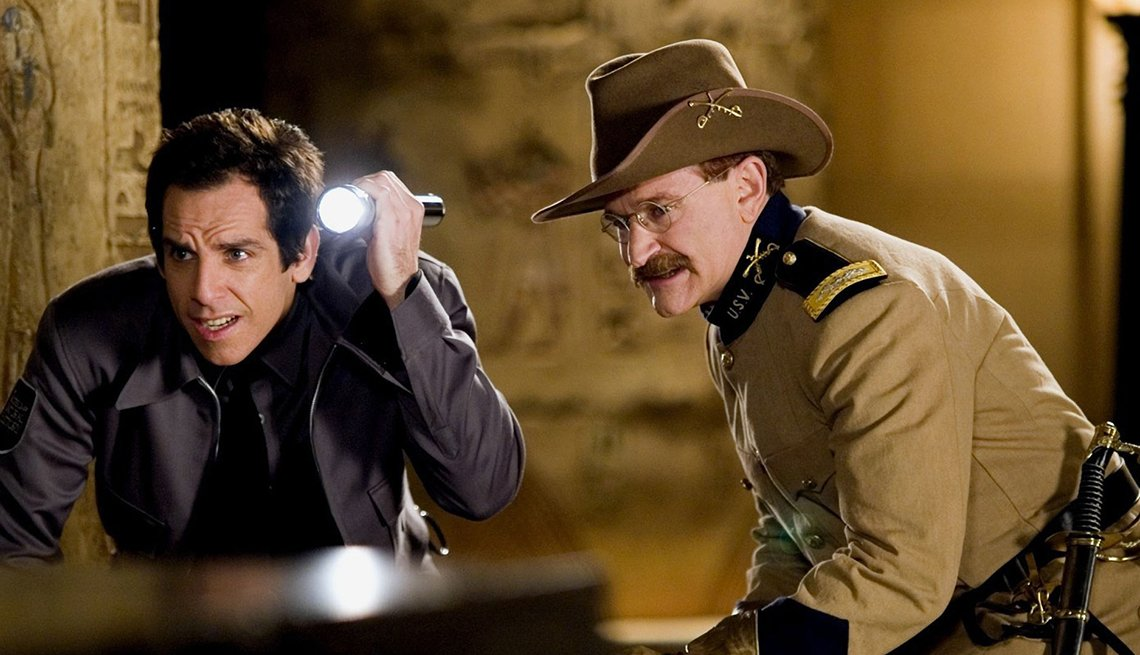 Night at the Museum, Movie, Ben Stiller, Robin Williams Best Roles