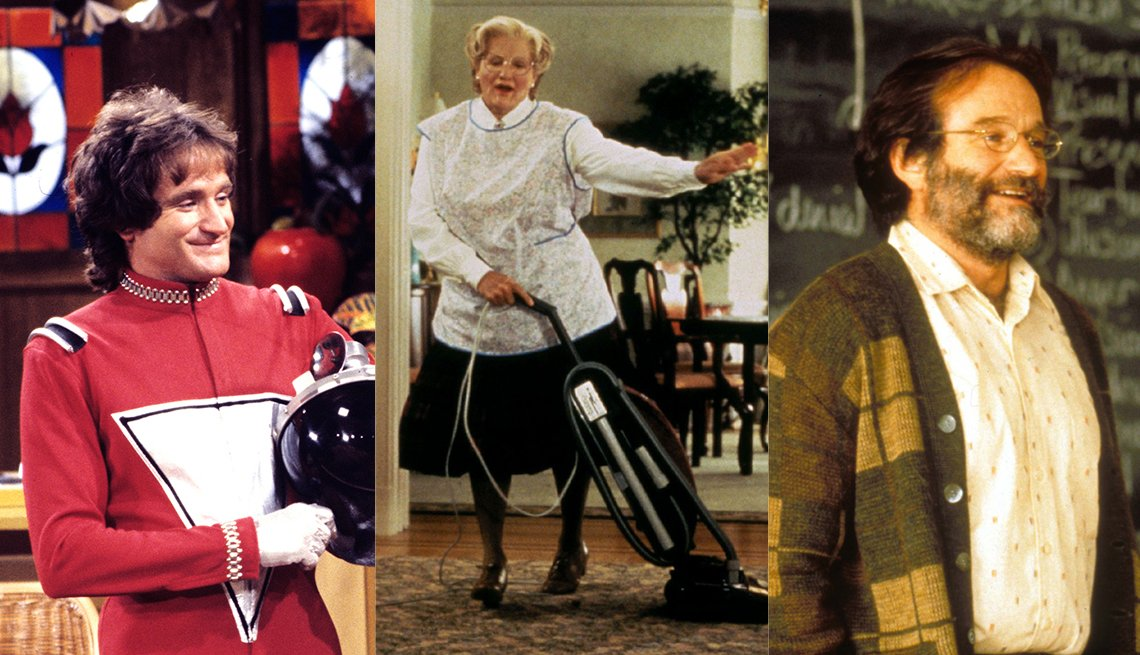 Mork and Mindy, Mrs Doubtfire, Good Will Hunting, Robin Williams Best Roles