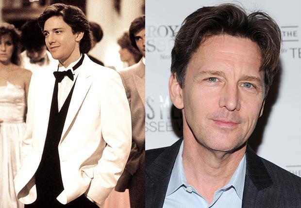 Andrew McCarthy, Brat Pack: Where Are They Now?