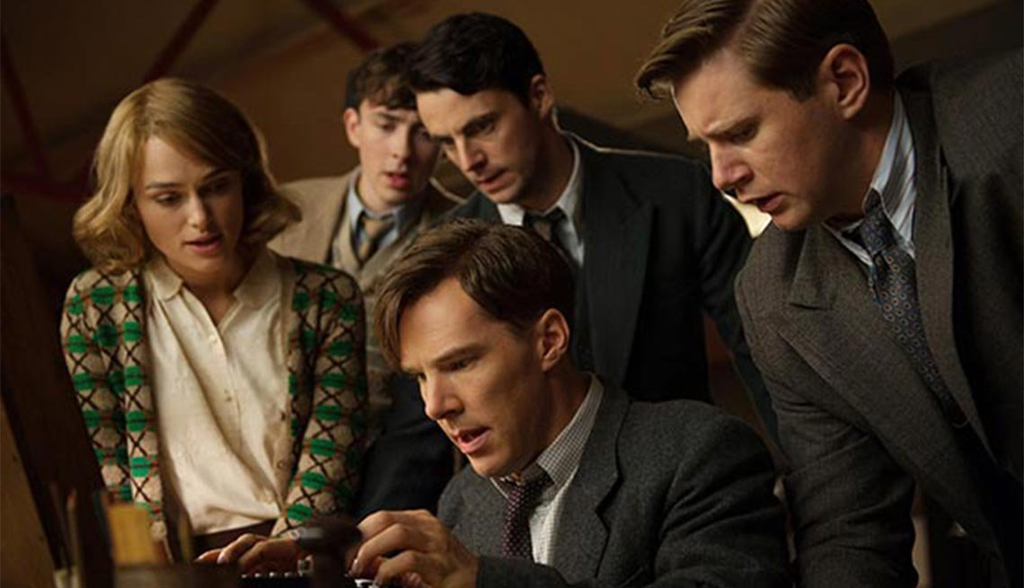 Benedict Cumberbatch,  Keira Knightley, The Imitation Game,