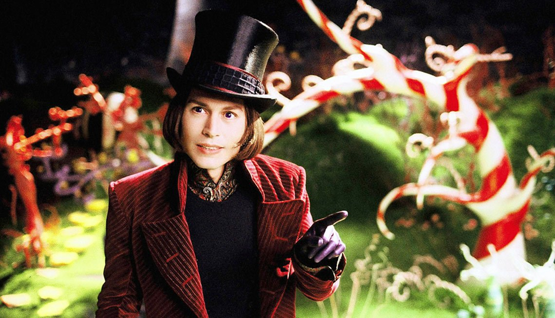 Depp-O-Meter, Charlie and the Chocolate Factory