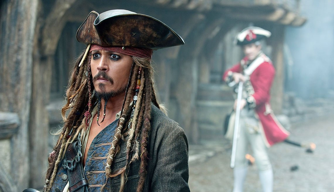 Depp-O-Meter, Pirates of the Caribbean