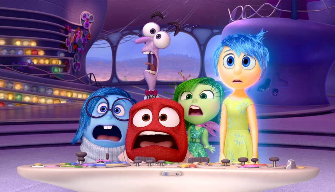 Top Movies of 2015, Inside Out