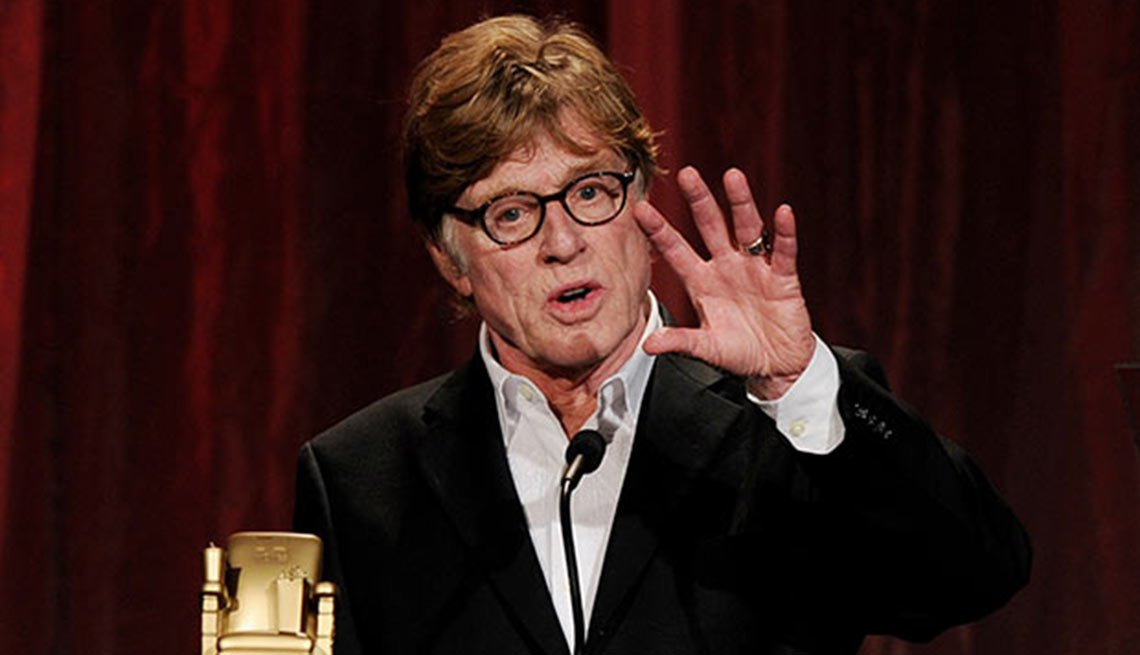 Movies for Grownups Career Achievement Hall of Fame, Robert Redford