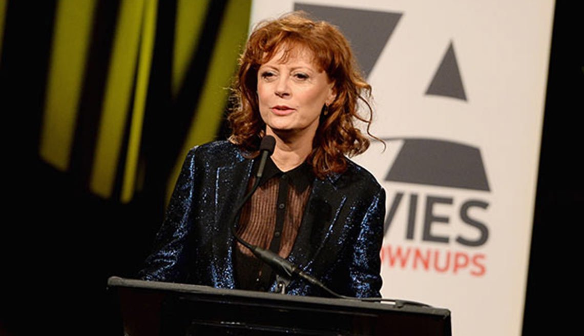 Movies for Grownups Career Achievement Hall of Fame, Susan Sarandon