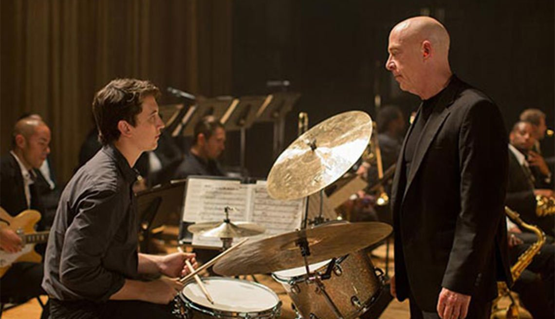2015 Movies for Grownups Award Winners, Whiplash