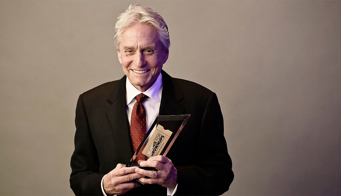 Movies for Grownups Career Achievement Hall of Fame, Michael Douglas