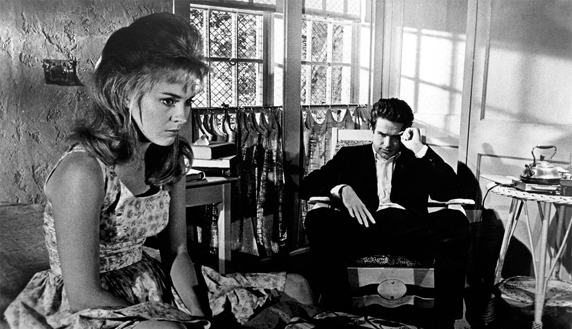 Jean Seberg and Warren Beatty in 'Lilith'