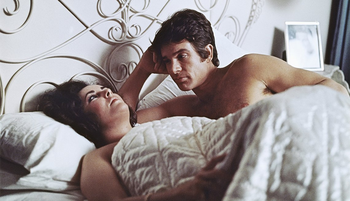 Elizabeth Taylor and Warren Beatty in 'The Only Game in Town'