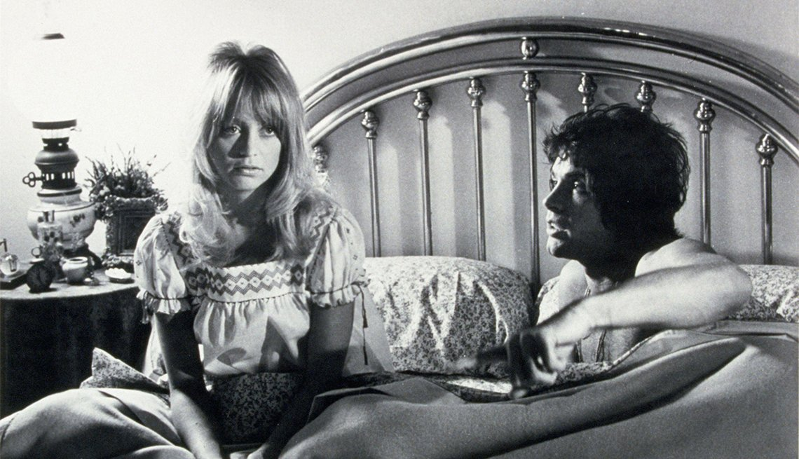 Goldie Hawn and Warren Beatty in 'Shampoo'